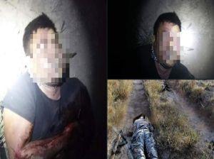 FOTOS: Las brutales imágenes de sicarios abatidos que iban a emboscar soldados