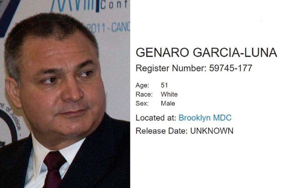 Juez niega a García Luna fianza por $2 millones y desestima temor de contagio de coronavirus en prisión