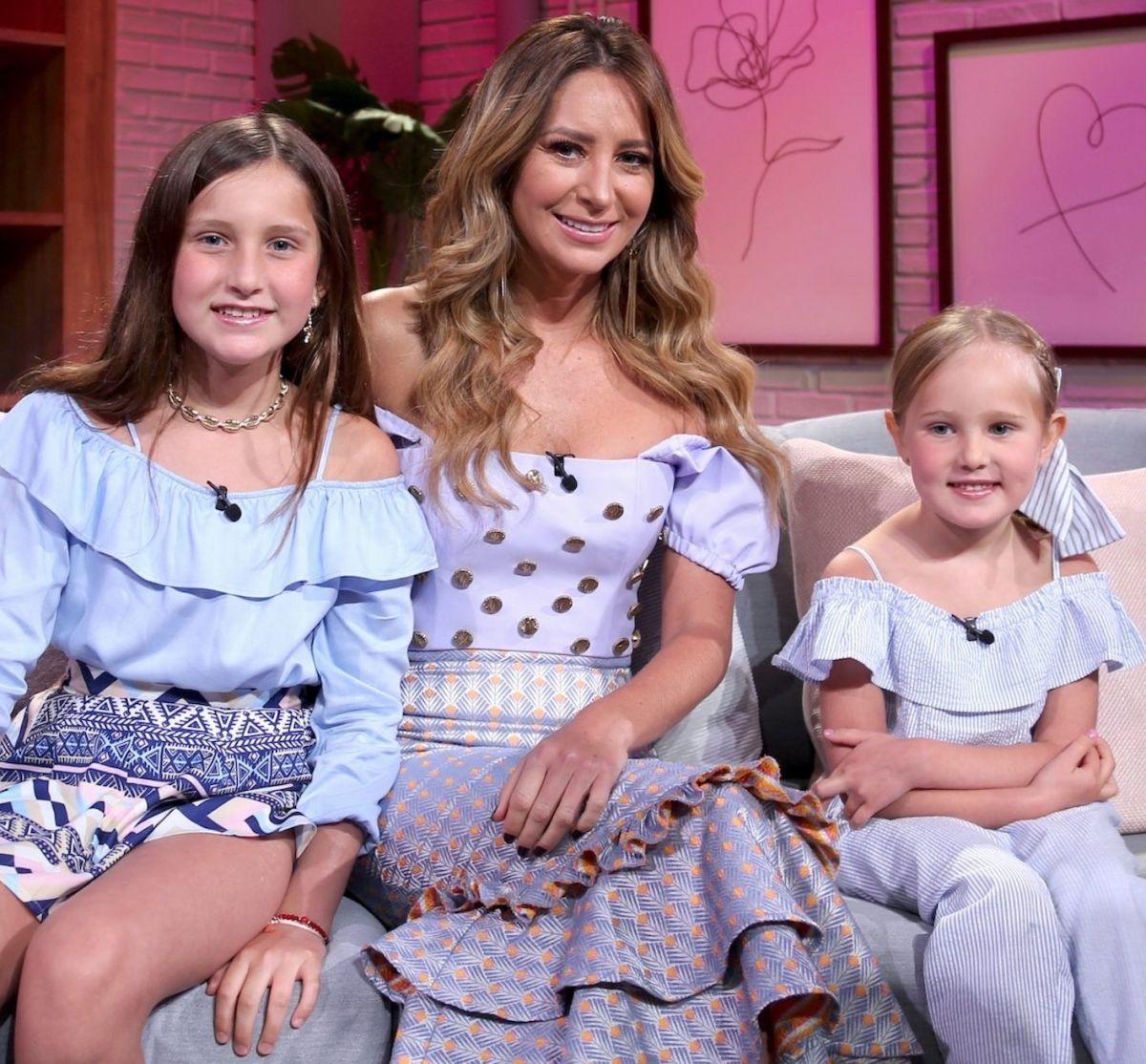 Así es como Geraldine Bazán y sus hijas gozan de Puerto Rico