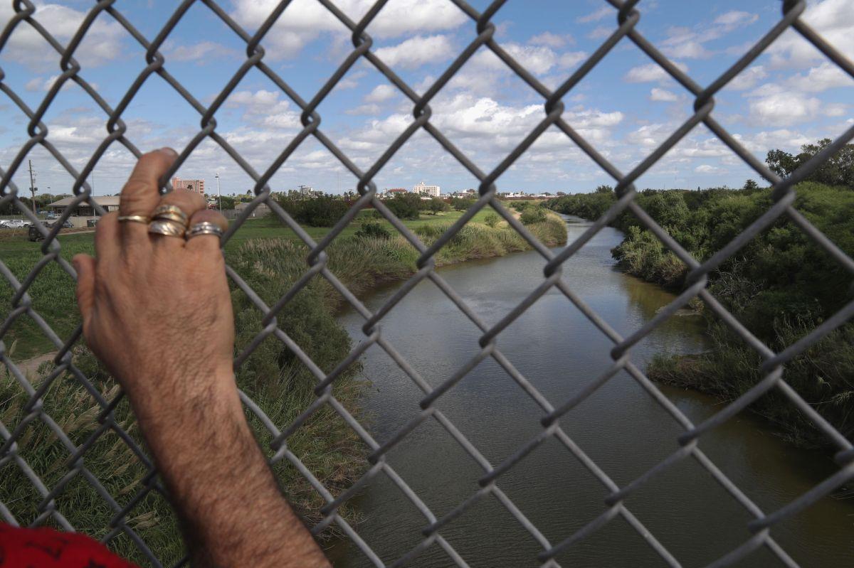 Frontera de Río Grande, en Texas.