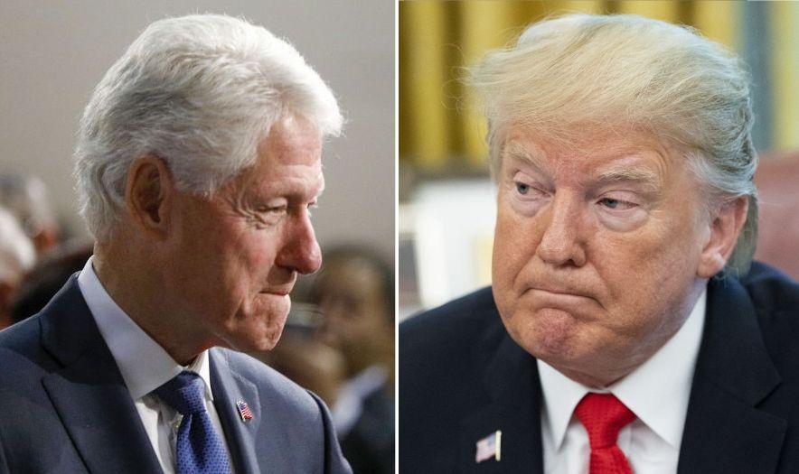 La extraña comparación de Pelosi entre el jucio político a Trump y el de Bill Clinton