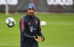 ¡Se calentaron! Jerome Boateng y Leon Goretzka llegaron a los golpes en el entrenamiento del Bayern Munich