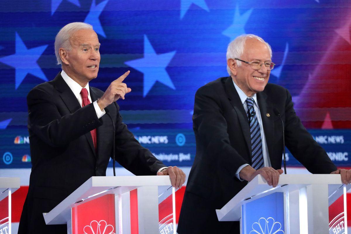 Biden y Sanders se despegan como punteros a punto de comenzar elección primaria en Iowa