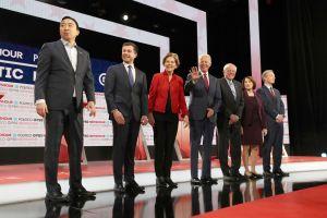 Seis candidatos clasifican para el debate demócrata del próximo martes