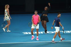 Esta fue la cantidad que Roger Federer y Serena Williams recaudaron para las víctimas de los incendios de Australia