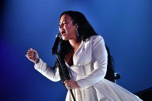 Demi Lovato y su historia detrás de 'Anyone', la poderosa canción que la hizo quebrarse en los Grammy