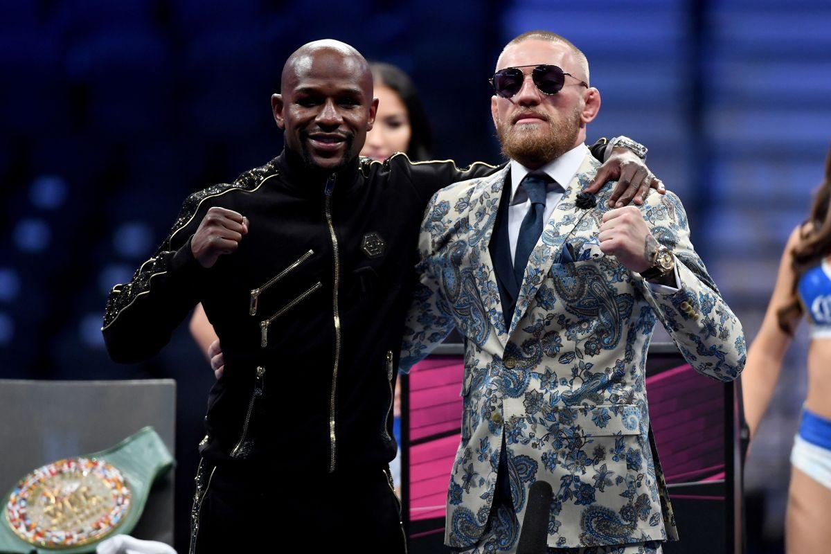 """Lo llama """"McLoser"""": Floyd Mayweather arremete contra Conor McGregor tras su derrota"""