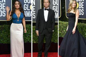 Famosos deslumbran en la alfombra roja de los Golden Globes 2020 (fotos)