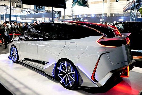 Revelan nuevo concepto de Toyota Prius