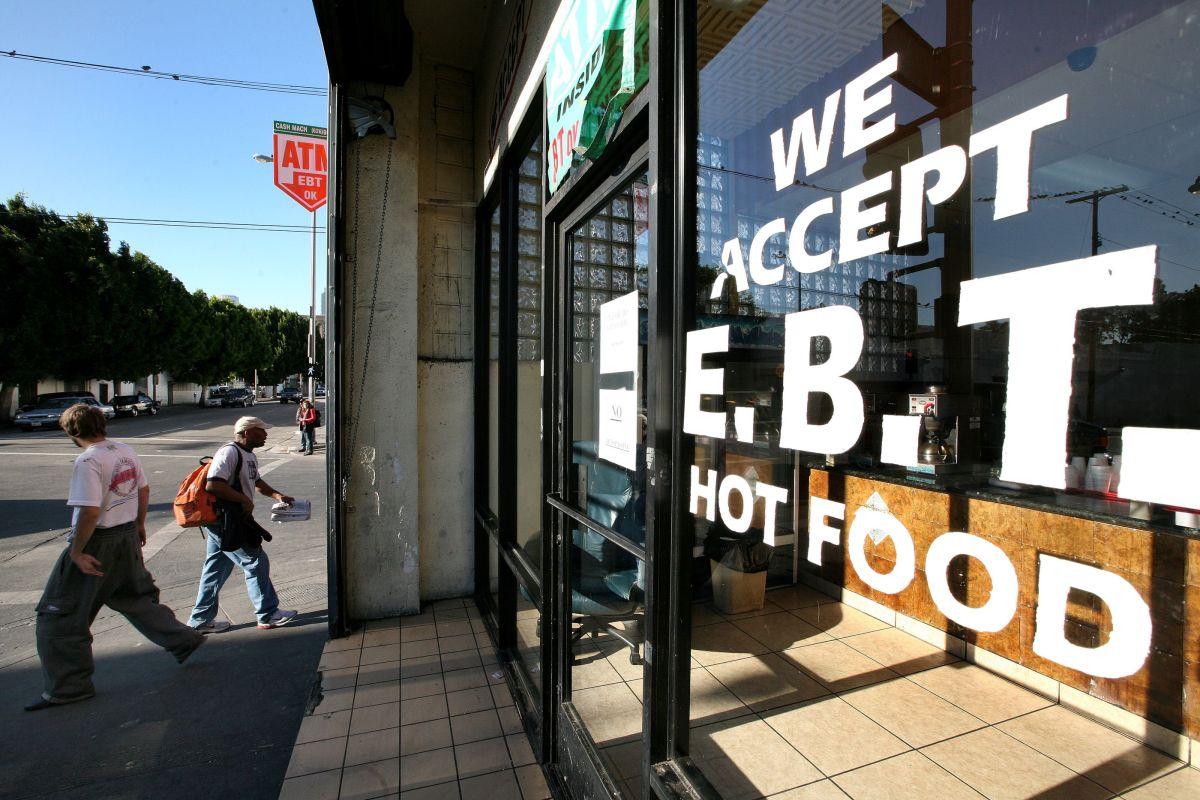 Un establecimiento en California que acepta la tarjeta EBT.