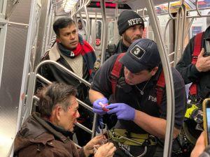 Atacan a un anciano en el tren F