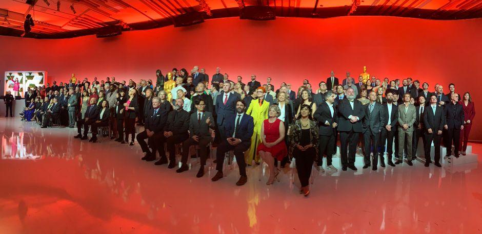 Los nominados a los Oscars 2020 se hicieron la foto oficial con Kobe Bryant en la memoria