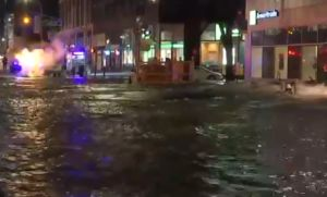VIDEO: Mega inundación causa caos vial y en el Subway de Manhattan
