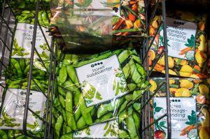 Los vegetales congelados son tan saludables como los frescos