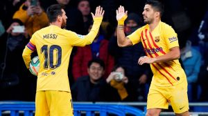 """""""Me duele"""": Luis Suárez lamentó la situación de Lionel Messi en el Barcelona"""