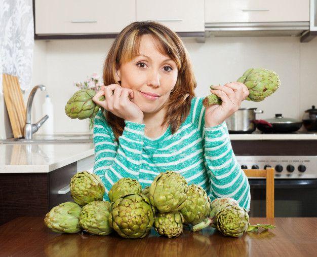 Las alcachofas son un alimento con grandes beneficios para bajar de peso.
