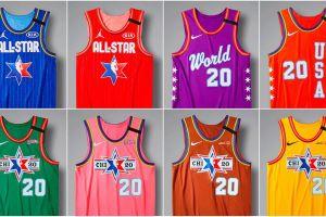 Nike presenta los uniformes del All Star NBA 2020 inspirados en los colores del transporte público de Chicago