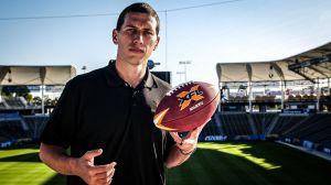 El quarterback mexicano Luis Pérez está listo para su siguiente aventura: la XFL