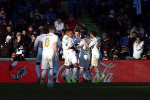 Courtouis, un muro: el Real Madrid recuperó el gol en el año nuevo y goleó al Getafe a domicilio