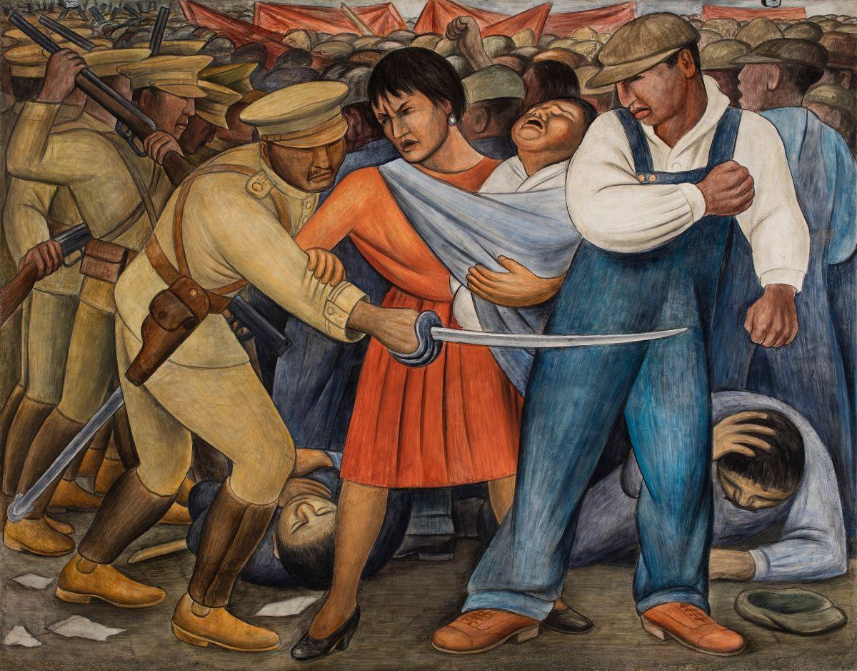 'Vida Americana' muestra la influencia del muralismo mexicano en el arte estadounidense