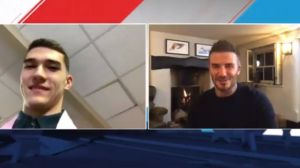 ¡Sorpresa! Beckham da la bienvenida a la primera selección del Draft para el Inter de Miami