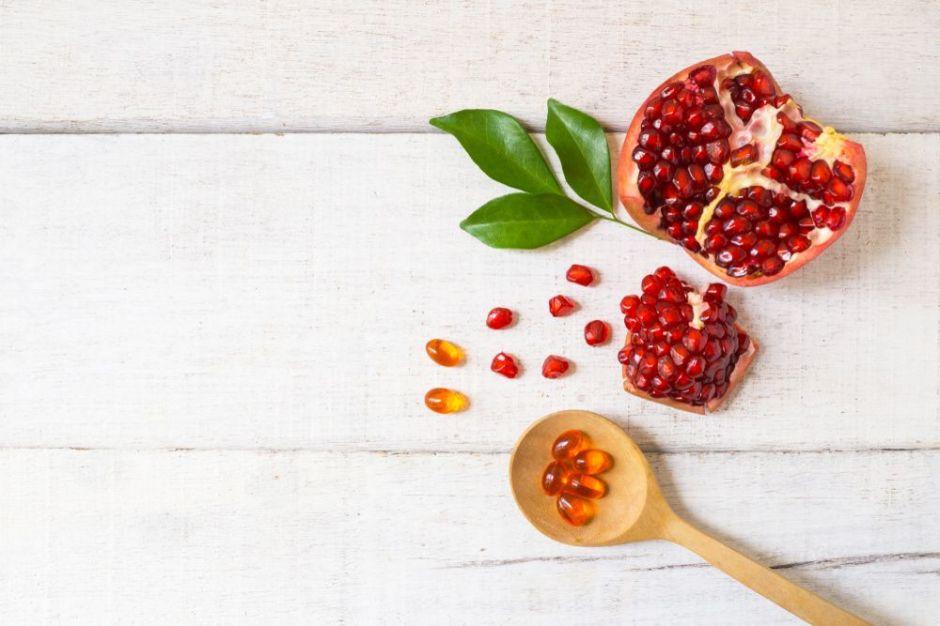 3 suplementos de granada que bajan el colesterol y cuidan tu sistema inmune