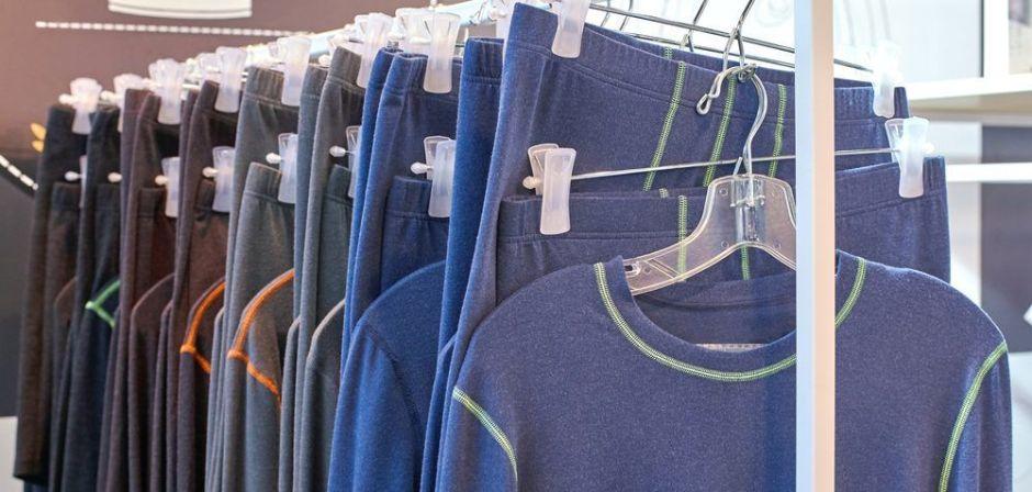 Piezas térmicas para los hombres usar debajo de la ropa cuando hace mucho frío