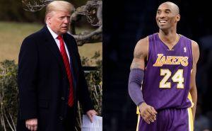 Donald Trump envió las debidas condolencias; él y Kobe Bryant tenían sus diferencias