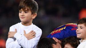 ¿El heredero de la 10? El golazo de Thiago Messi que le dio la vuelta al mundo