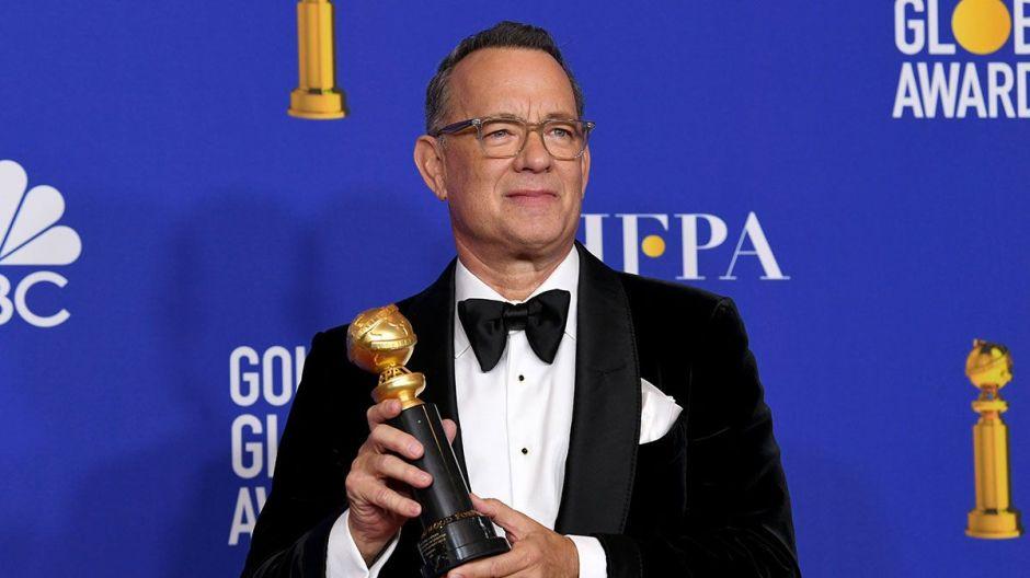 El valioso consejo para el éxito profesional que dio Tom Hanks en su discurso en los Golden Globes