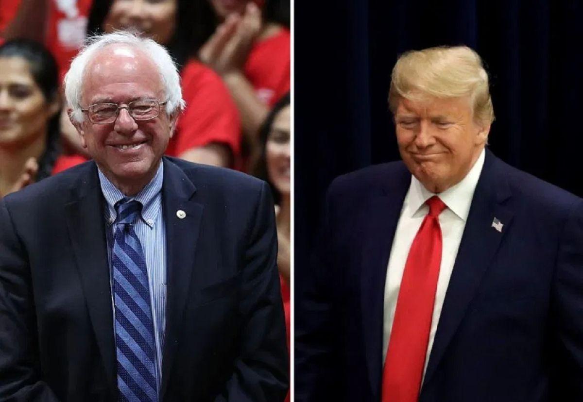 ¿Donald Trump le teme al avance de Bernie Sanders en encuestas?