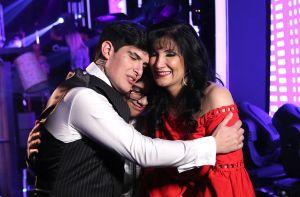 """Adriel Favela ante la visita de su mamá en 'Mira Quién Baila All Stars': """"No me andes pidiendo perdón"""""""