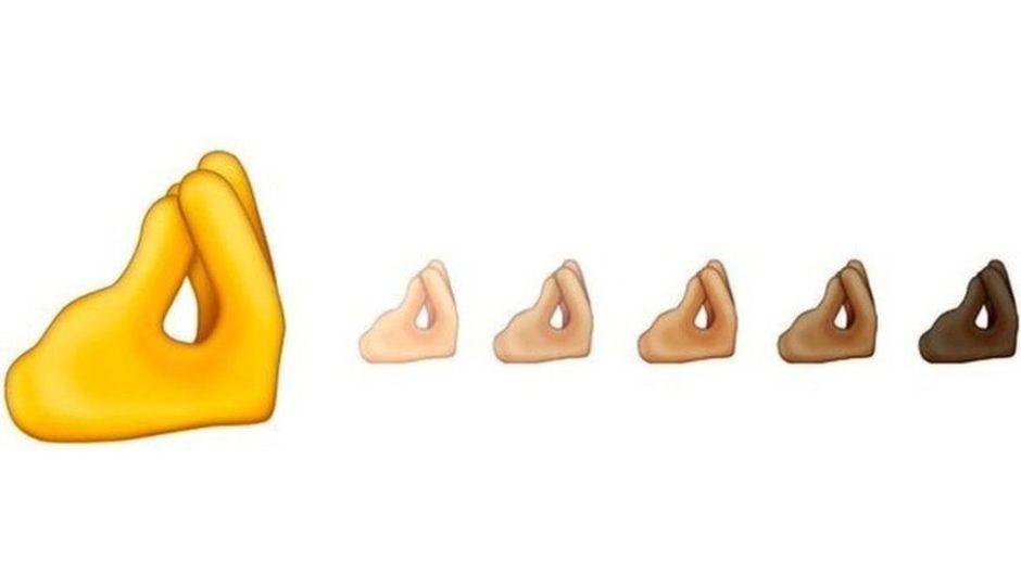 """Los múltiples significados en el mundo del nuevo emoji de los """"dedos pellizcados"""""""