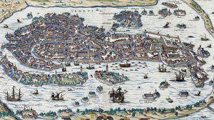 """Cómo lograron los romanos la """"locura colosalmente genial"""" de construir Venecia en el fango"""