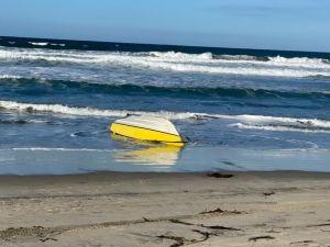 Muere otro ocupante de la lancha que naufragó con siete migrantes a bordo en costas de California