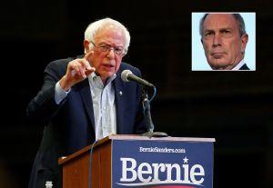 Sanders arremete contra reciente apoyo de Bloomberg a salario mínimo de $15 y le refresca la memoria