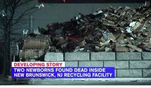 Encuentran dos bebés muertos en basurero de Nueva Jersey