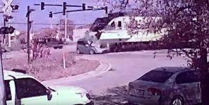 El video en el que un hombre vive sus últimos segundos de vida antes de ser arrollado por un tren en Florida