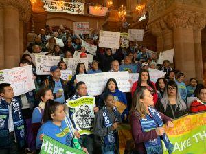 Trabajadores inmigrantes llevan sus demandas hasta Albany