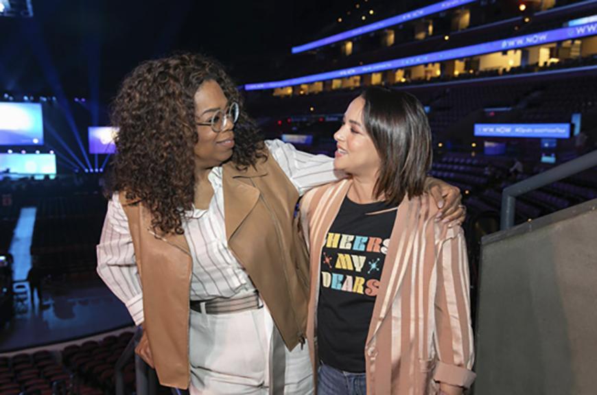 La verdad de por qué Oprah Winfrey eligió a Adamari López para el reto de bajar de peso