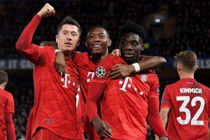 Champions League: El Bayern Múnich destrozó al Chelsea y tiene un pie en cuartos de final