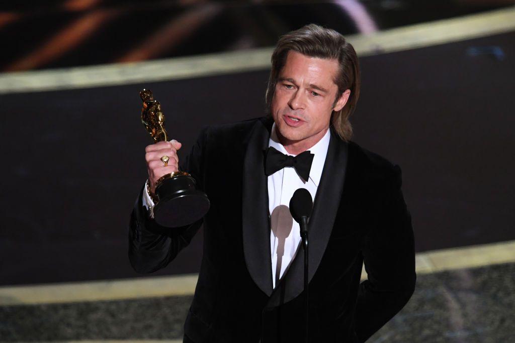 Brad Pitt ganó el Óscar y aprovechó para atacar a Trump y al Partido Republicano