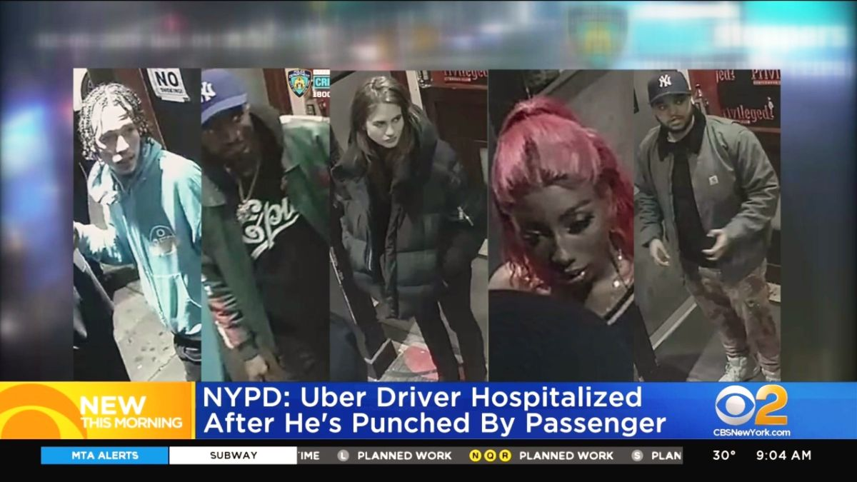 Conductor de Uber en coma tras ser golpeado por pasajeros en Nueva York