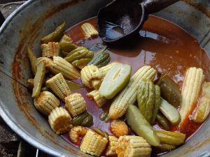 La receta original de la abuela del Chileatole Veracruzano
