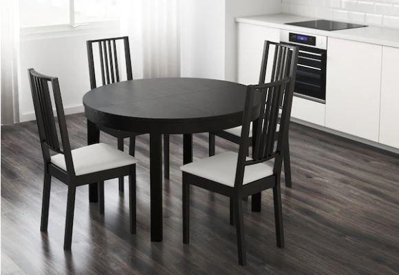 Arma tu pequeño comedor de cocina para 4 personas con estas 3 opciones de Ikea por menos de $400