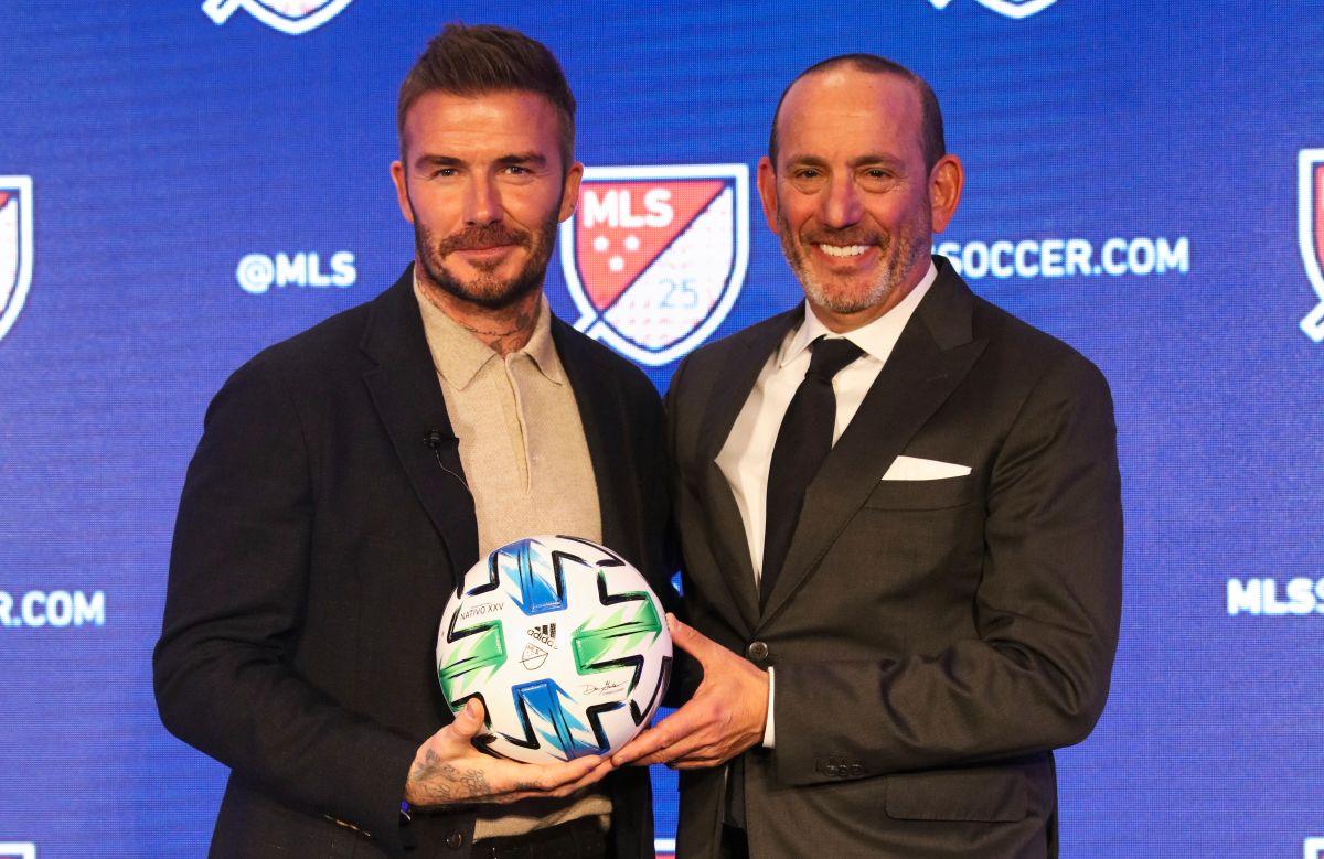 """David Beckham: """"La MLS competirá con las ligas europeas en los próximos 10 años"""""""