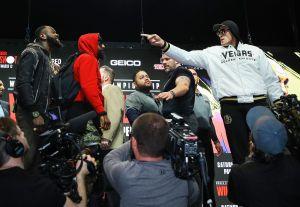 ¡Buuuu! La Comisión de Nevada prohíbe careo entre Wilder y Fury en la ceremonia de pesaje