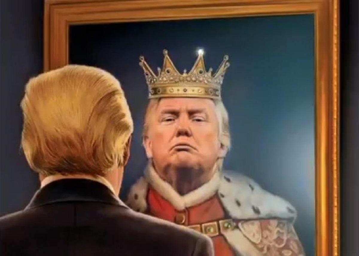 """Trump desata polémica por referirse a sí mismo como un """"rey"""""""