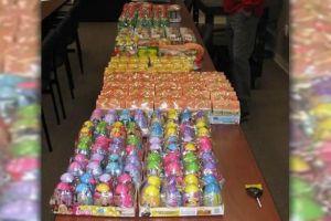 "Un cargamento de ""narcogolosinas"" que llevó al dulce arresto de dos narcotráficantes"