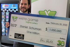 Ganó $1 millón de dólares en la lotería... y sin comprar el boleto